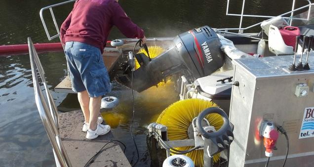 Boatwasher Fisksätra båtbottentvätt (4)