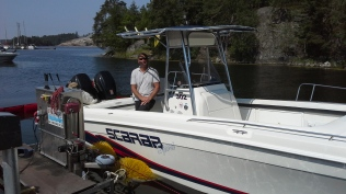 Boatwasher Fisksätra båtbottentvätt (7)