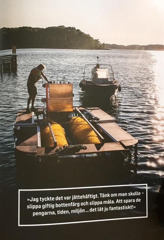 BoatWasher i Omtänk - maskinen