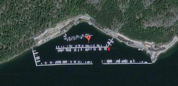 Morarnas båtklubb, Gålö, flygbild