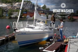 BoatWasher, borsttvätt, båtbottentvätt, green antifouling (10)