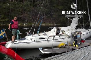 BoatWasher, borsttvätt, båtbottentvätt, green antifouling (11)