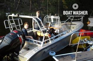 BoatWasher, borsttvätt, båtbottentvätt, green antifouling (15)
