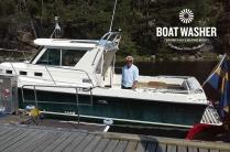 BoatWasher, borsttvätt, båtbottentvätt, green antifouling (4)