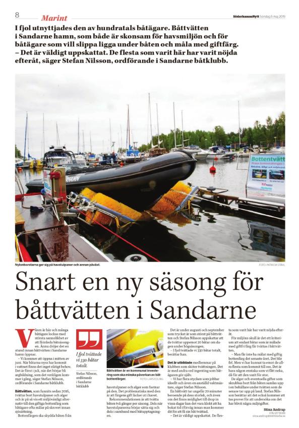 190505 BoatWasher i Söderhamnsnytt.png